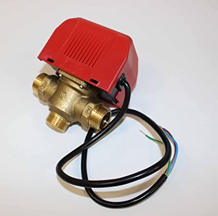 Orkli - Válvula de zona de 3 vías para calefacción con rosca exterior de 3/