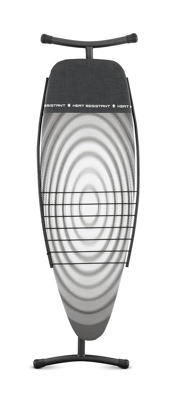 Brabantia 100482 Funda Protectora con Zona Resistente al Calor Mesa de Planchar dise/ño Titan Oval Bandeja para Ropa sin Soporte Estructura Gris Oscuro 135 x 45 cm