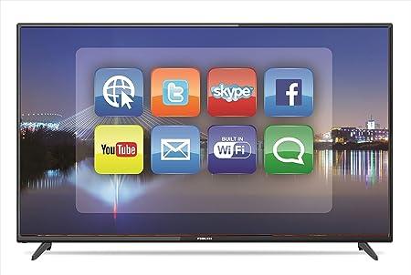 تلفزيون ليد ذكي الترا اتش دي بدقة 4 كيه مقاس 50 بوصة لون اسود