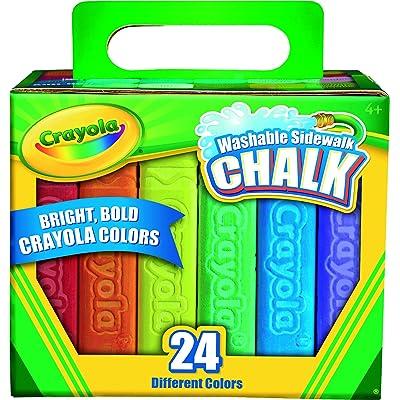Crayola 24 Count Sidewalk Chalk (51-2024-E-000): Toys & Games