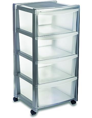 Ikea Cassettiere Plastica.Cassettiere Di Stoccaggio Amazon It