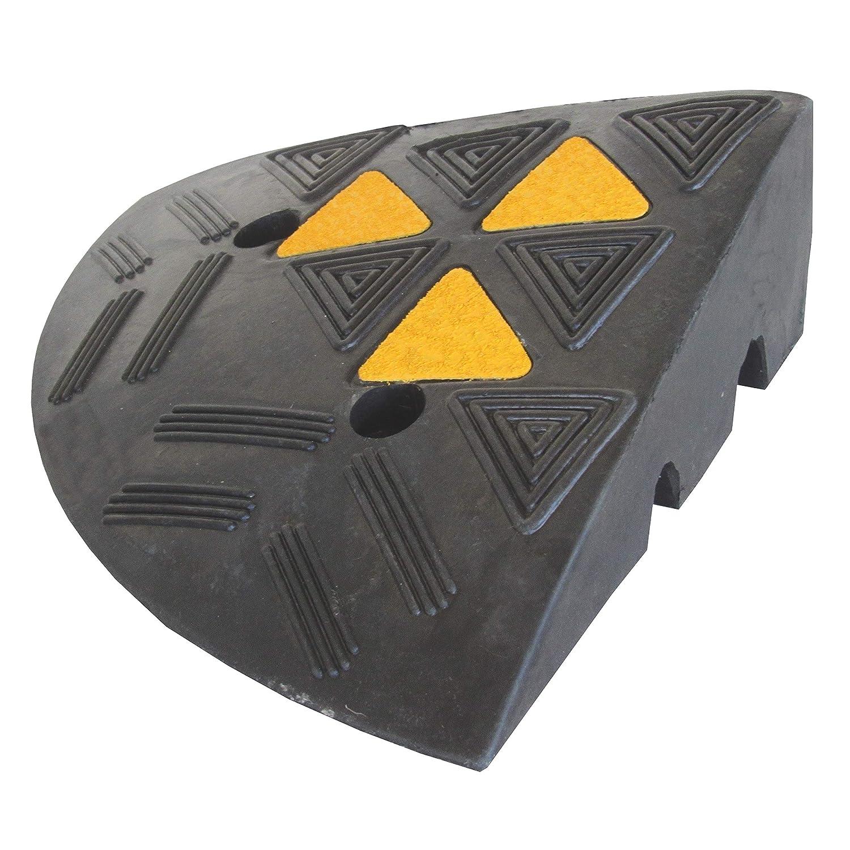 RKR-1E Rampa de caucho Rubber Parte Fin 10 cm (Paquete de 1)