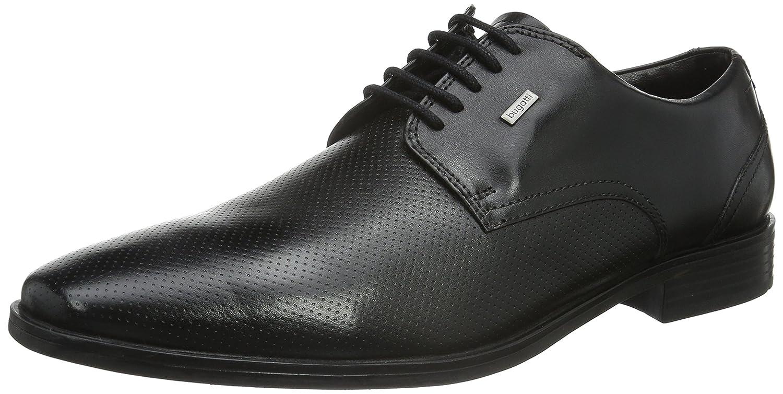 TALLA 42 EU. Bugatti 313160021000, Zapatos de Cordones Derby para Hombre