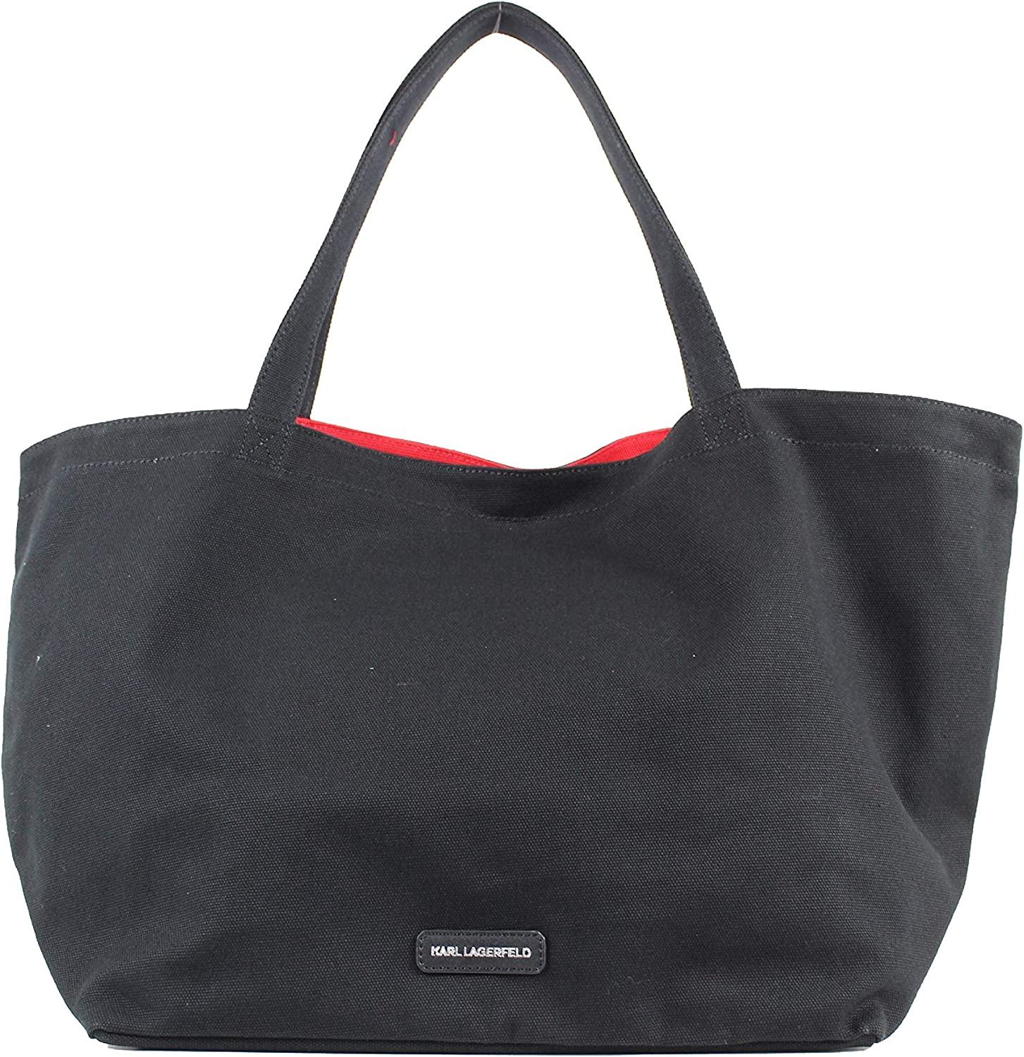 Karl Lagerfeld Bolso Tote Karl Rue St Guillaume Tote 201W3138 Color Negro.: Amazon.es: Zapatos y complementos