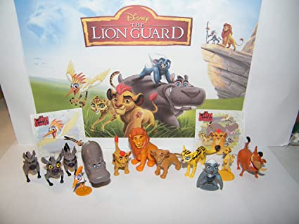 Complete Lion Guard Set New in Box Disney/'s Lion King
