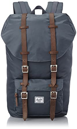 Image Unavailable. Image not available for. Colour  Herschel Supply Co  Little America blue nylon backpack 4624256ddb71e