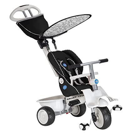 Amazon Com Smart Trike Recliner 4 In 1 Tricycle Black