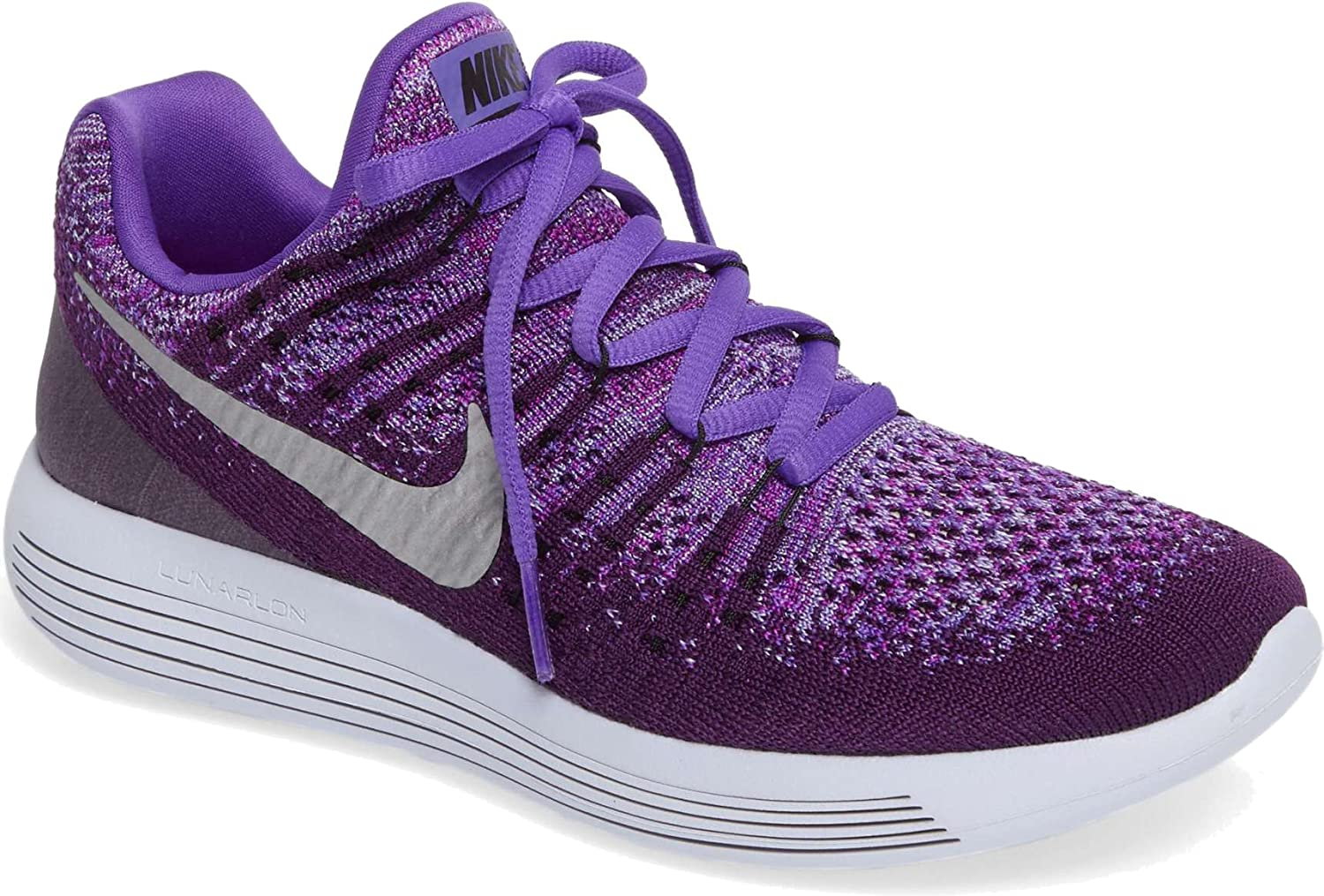 new concept 4dcb5 9f80d Amazon.com | Nike Kids LunarEpic Low FlyKnit 2 GS Running ...