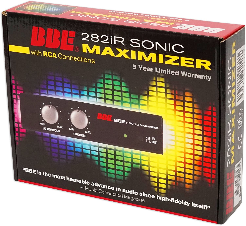 BBE 282IR Desktop Sonic Maximizer w//RCA Inputs//Outputs+Headphones+RCA Cables