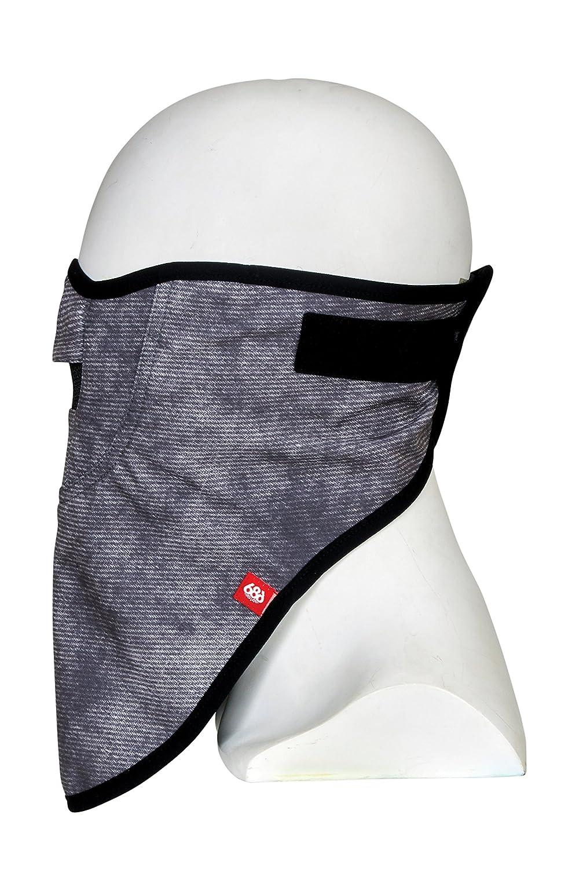 【686】シックスエイトシックス 2018-2019 MEN'S STRAP FACE MASK メンズ フェイスマスク ネックウォーマー ネックバンド スノーボード スノボー スキー CHARCOAL-WASH O/S   B079QWDDTL