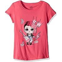 L.O.L. Surprise! Girls Glee Club Rocker Short Sleeve T-Shirt Short Sleeve T-Shirt - Pink