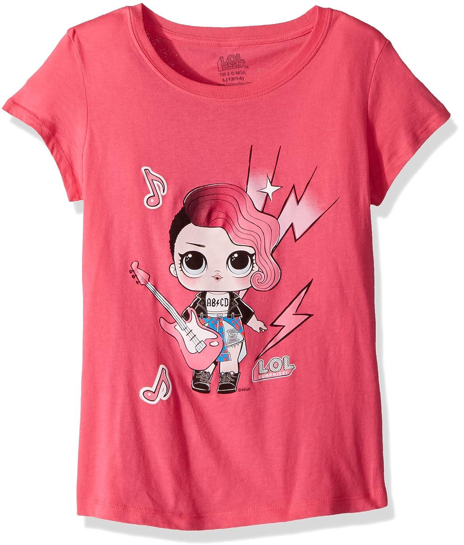 L.O.L. Surprise! Girls' Glee Club Rocker Short Sleeve T-Shirt