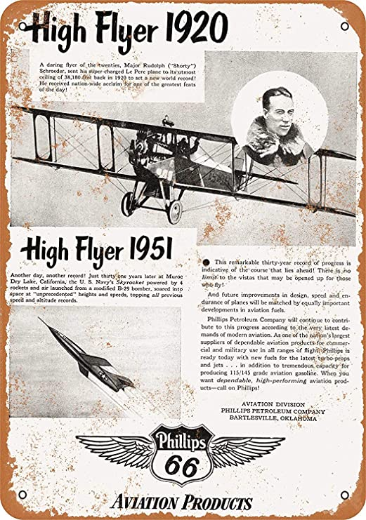 Phillips High Flyer Póster De Pared Metal Retro Placa Cartel ...