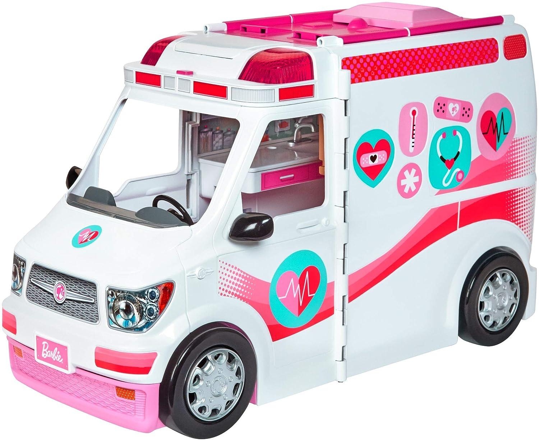 Barbie Ambulancia Hospital 2 en 1 (Mattel FRM19)