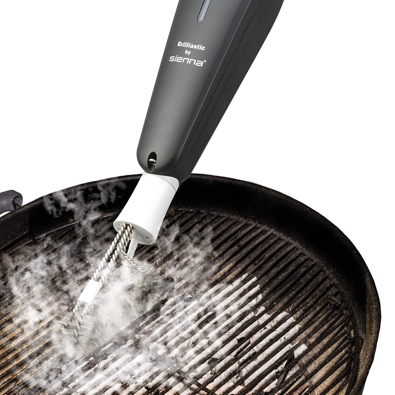 Dampfreinigungs-Gitter Grill-Reiniger Sienna Appliances Grilltastic Dampfreinigung desinfiziert Bar B Que und entfernt Dicke Aufbau. 1500 W Grill-B/ürste