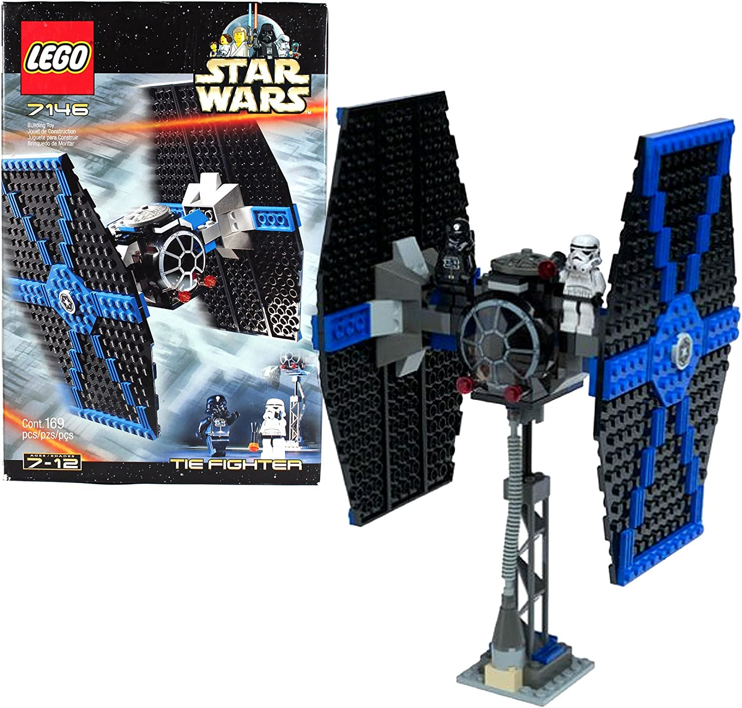 Lego Star Wars #7146 Tie Fighter