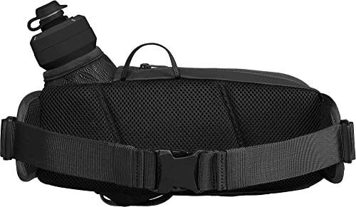 CamelBak Podium Flow Bike Hydration Belt – Easy Access Bottle Pocket – Podium Dirt Series Bottle – Adjustable Waist Buckle – Secure Zipper Pocket – Riding Belt – 21 Ounce