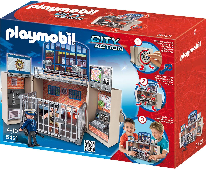 Playmobil 5421 - Playmobil Polizeistation zum Mitnehmen