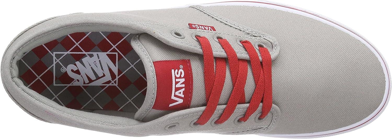 Vans - VZUUI45 - M Bishop (Textile) Beige Varsity Gray Red