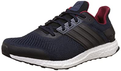 best sneakers 0a8fd a16fc adidas Ultra Boost St M, Chaussures de Running Entrainement Homme,  Noir-Negro (