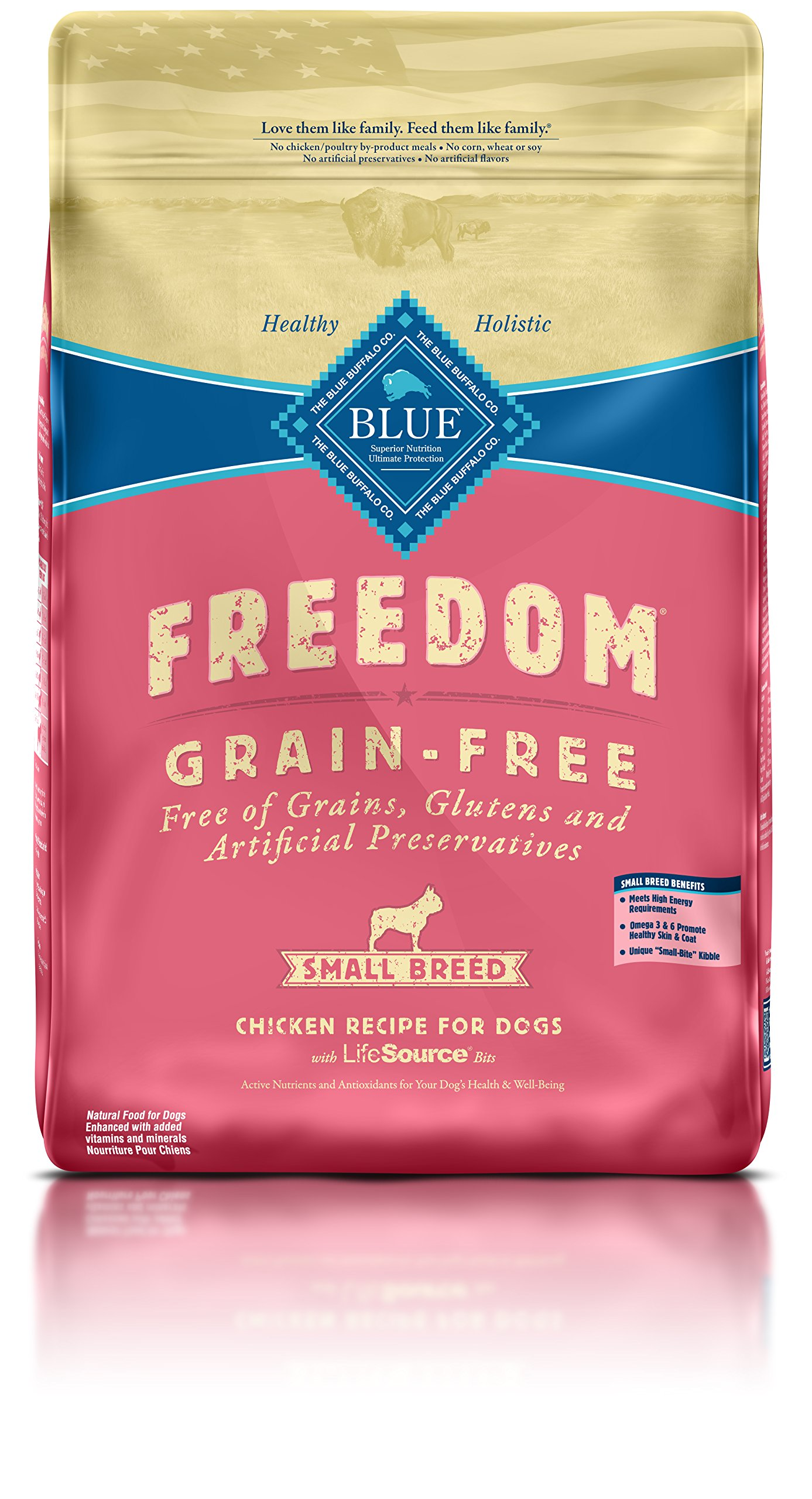 Blue Buffalo Freedom Grain-Free Recipe for Dog 4 LB