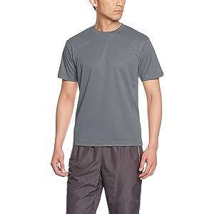 [グリマー] 半袖 4.4oz ドライTシャツ (クルーネック) 00300-ACT ダークグレー LL (日本サイズLL相当)