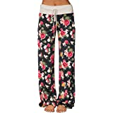 Sexymee Women's Comfy Stretch Floral Print...