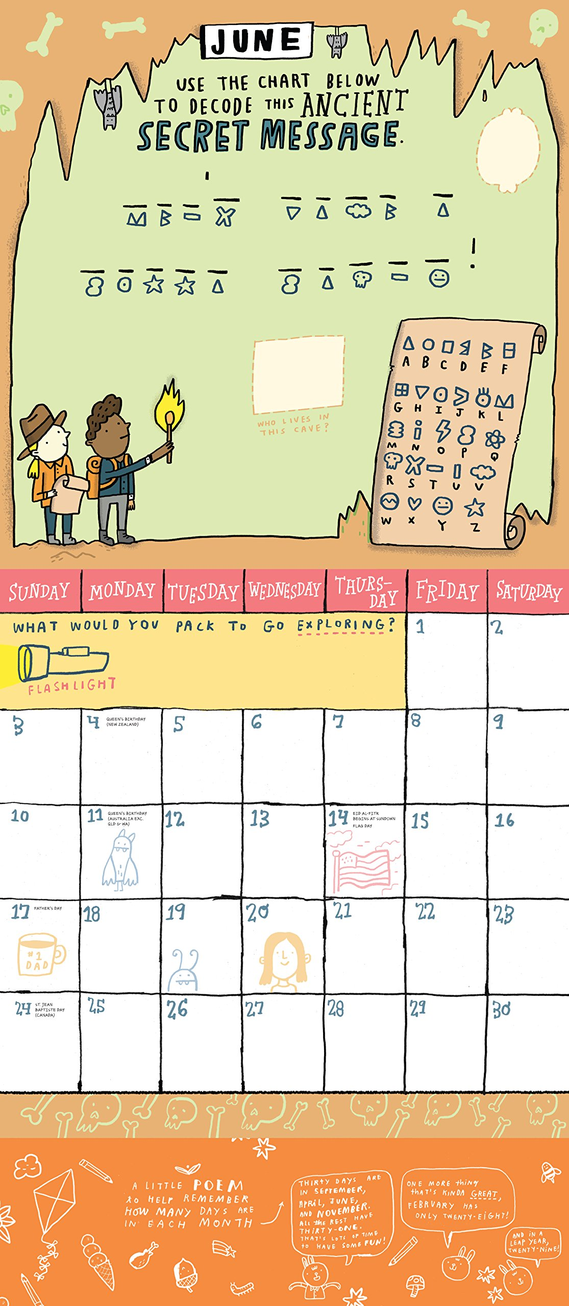 Kid's Awesome Activity 2019 Calendar: Mike Lowery: 9781523503711:  Amazon.com: Books