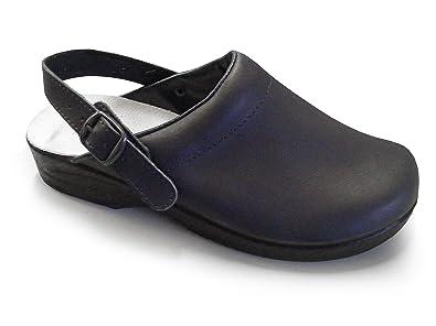 Soldini Comfort Clog Comfortable Italian Leather Medical Clog for Healthcare Professionals B00STH9KOI