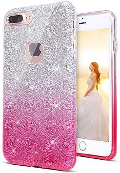 iphone 7 coque silicone paillette