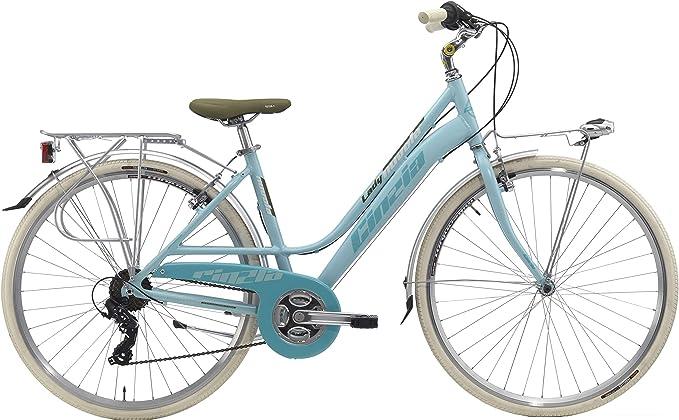 Cicli Cinzia Bicicleta Nuvola Donna, mujer, 8033389464196, Azzurro ...