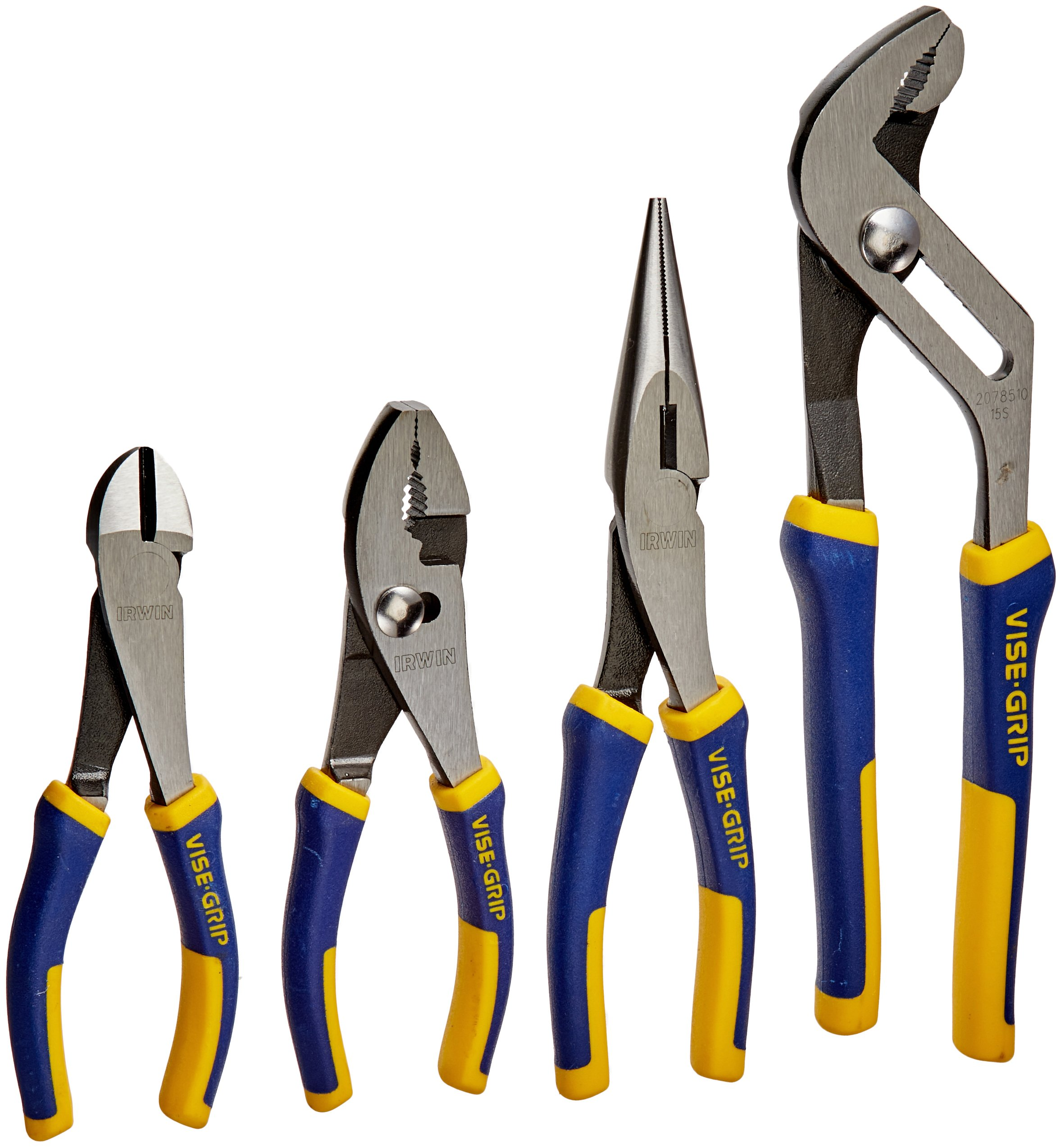 IRWIN VISE-GRIP Pliers Set, 4-Piece (2078707) by Irwin Tools