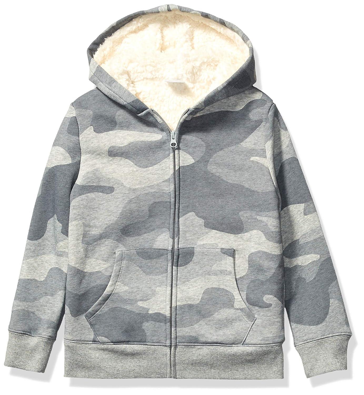 Spotted Zebra Kids Sherpa-Lined Fleece Zip-up Hoodies Brand