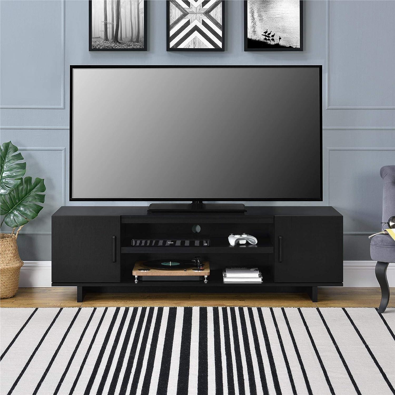 Ameriwood Home 1868335COM Southlander - Mueble para TV, Color Roble Negro: Amazon.es: Juguetes y juegos