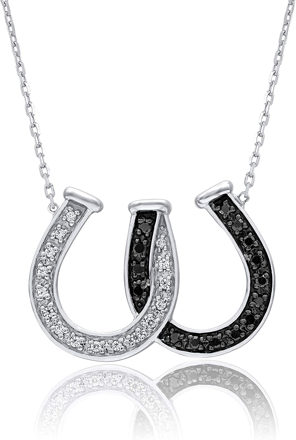 TVS-JEWELS Round Cut Diamond Pendant with 18 Chain for ❤Best