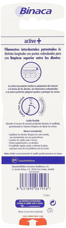 Binaca - Cepillos de dientes, pack de 2: Amazon.es: Salud y cuidado personal