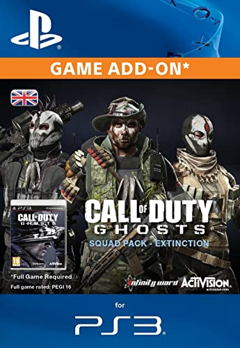 Call of Duty: Ghosts - Squad Pack - Extinction [PS3 PSN Code - UK