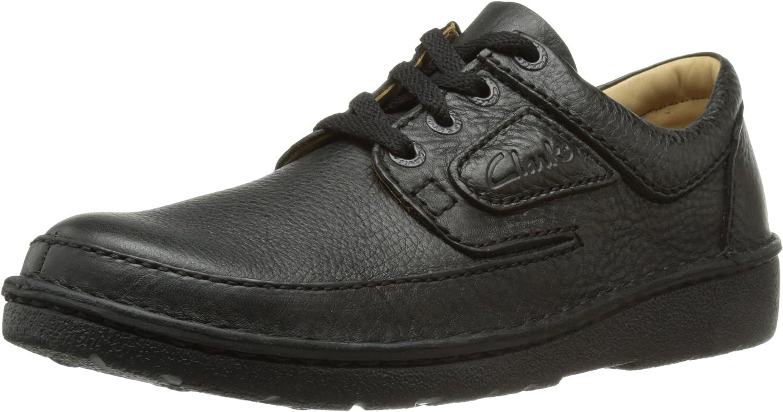 TALLA 41.5 EU. Clarks Nature II 111553 - Zapatos de Cordones de Cuero para Hombre