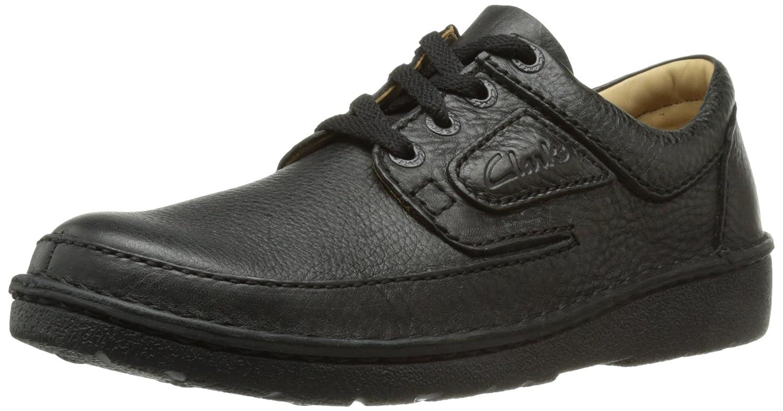 TALLA 42.5 EU. Clarks Nature II 111553 - Zapatos de Cordones de Cuero para Hombre