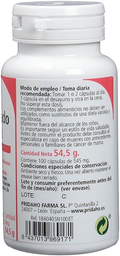 Sanon Concentrado de Soja Rico en Isoflavonas - 2 Paquetes de 100 Cápsulas: Amazon.es: Salud y cuidado personal