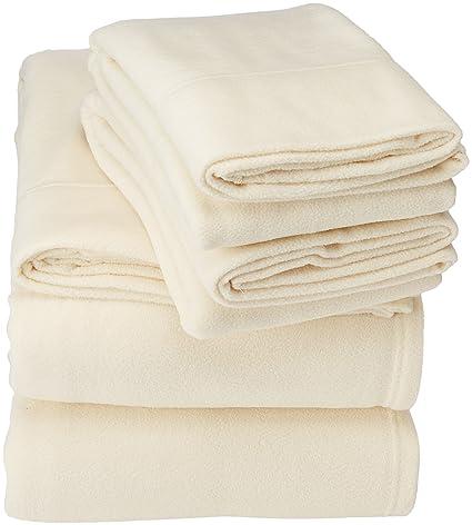 Peak Performance SHET20-595 Sheet Set Full Ivory best full-sized fleece sheets