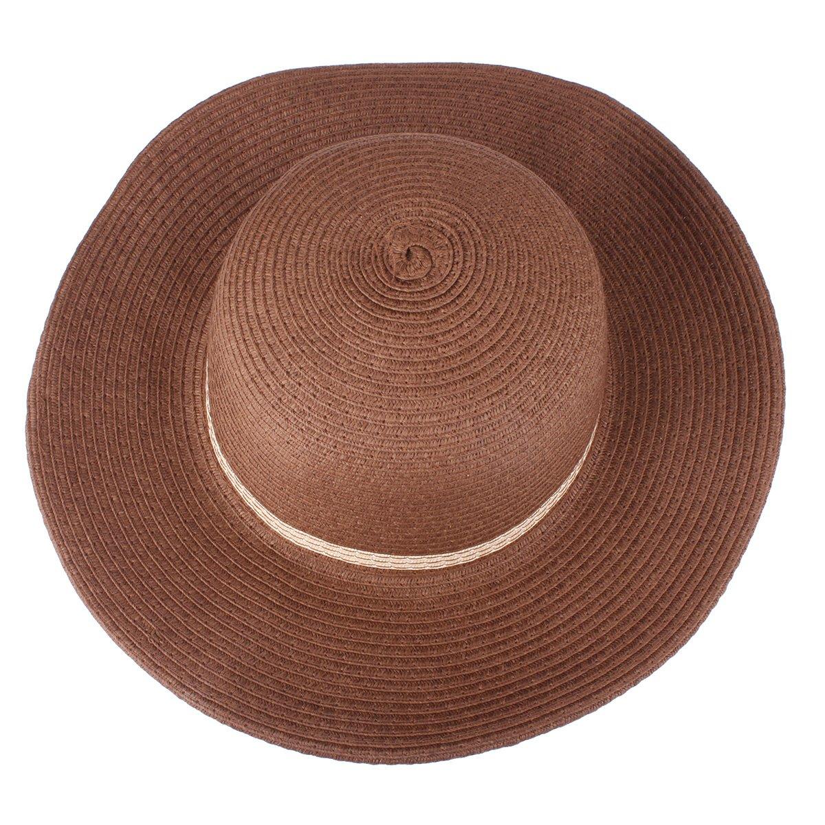 4b6997a1175b Sun Protection Sun Hats for Kids Girls Sun Hat Summer Straw Hat Beach  Floppy Cap with Handbag ...
