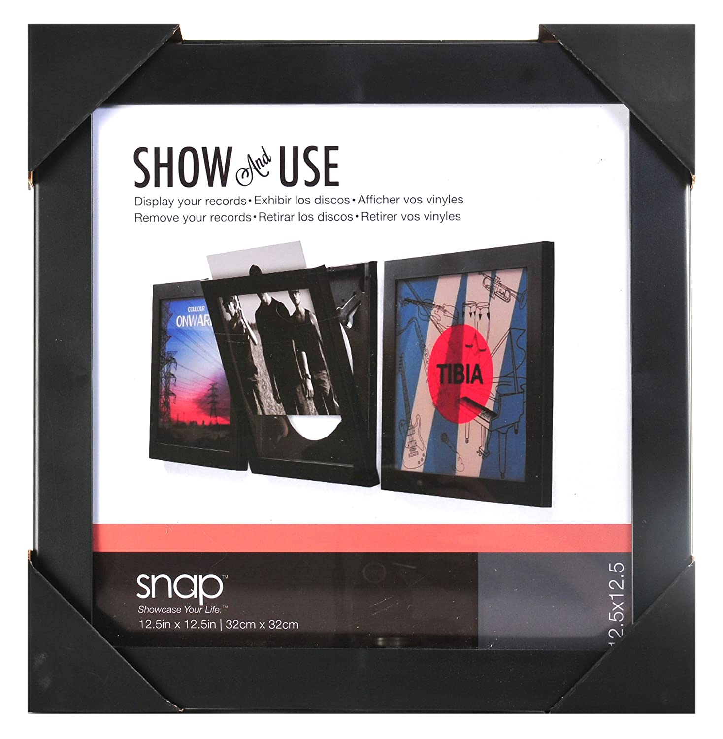 Snap Show and Use Vinyl Record Frame 38555449753 | eBay