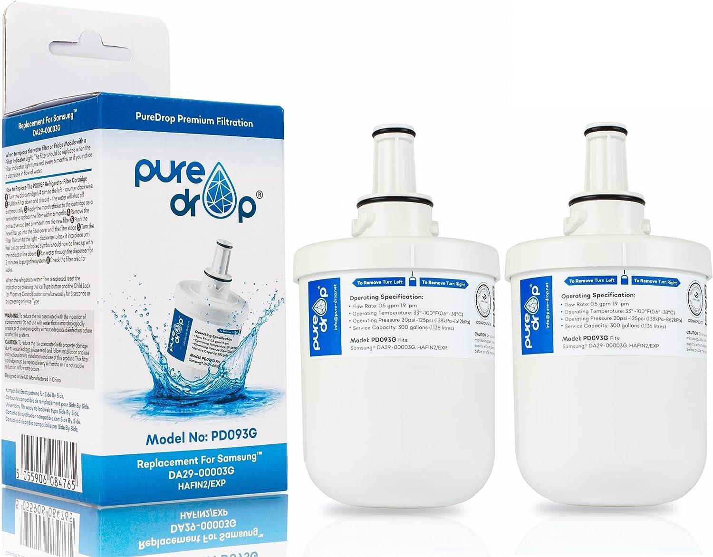 Samsung Réfrigérateur Congélateur Cartouche de filtre à eau Aqua-Pure DA29-00003G Authentique