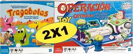 Hasbro Pack Tragabolas + Operación Toy Story - Pack de Dos Juegos de Mesa: Amazon.es: Juguetes y juegos