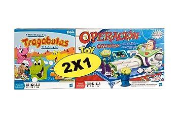 Hasbro Pack Tragabolas + Operación Toy Story - Pack de Dos Juegos ...