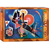 EuroGraphics In Blue by Kandinsky 1000 Piece Puzzle
