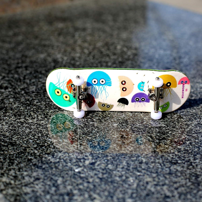 PRO Bearing 4Pcs//Set NOAHWOOD Fingerboards PRO Wheels Green, II