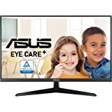 """ASUS VY279HE 27"""" Eye Care Monitor, 1080P Full HD, 75Hz, IPS, 1ms, Adaptive-Sync/FreeSync, Eye Care Plus, Color Augmentation,"""