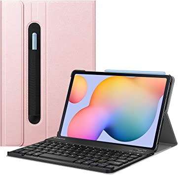 Fintie Étui avec clavier pour Samsung Galaxy Tab S6 Lite 10,4